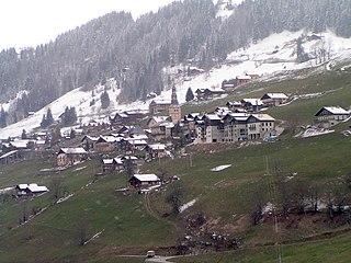 Hauteluce Commune in Auvergne-Rhône-Alpes, France