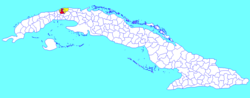 Havana within Cuba