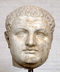 Colossal head of Titus (Glyptothek).