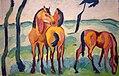 Helmuth Macke, Drei Pferde (36058959665).jpg