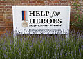 Help for Heroes Sign at the Defence Medical Rehabilitation Unit, Headley Court in Surrey MOD 45152785.jpg