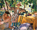 Henri Lebasque - Au jardin en été, Saint-Tropez.jpg