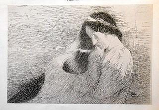 Femme jouant de la lyre