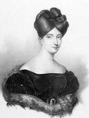 Zaira (opera) - Soprano Henriette Méric-Lalande sang Zaira