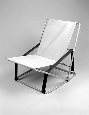 Henry P. Glass - Folding Chair, Designed 1961 Brooklyn Museum
