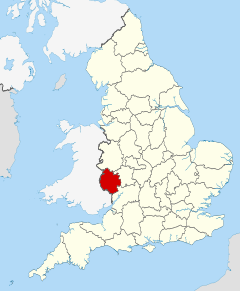 Herefordshire UK locator map 2010.svg