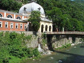 Băile Herculane - Image: Herkulesfürdő2