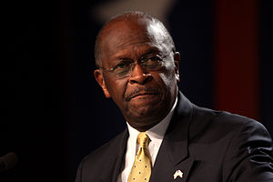 Political positions of Herman Cain - Cain in Washington, DC on October 7, 2011