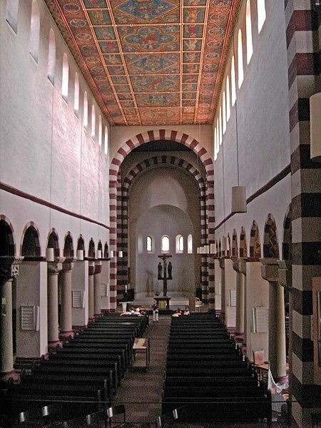 File:Hildesheim-St Michaels Church.interior.01.JPG