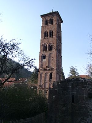 Hirsau Abbey - Belltower