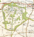 Holkham Hall estatemap1946.png