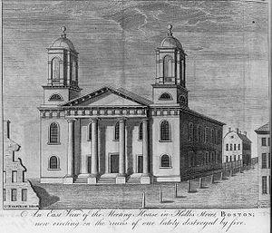 Hollis Street Church - Hollis Street Church, 1788
