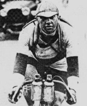 Bottle cage - Water bottle placement during 1919 Tour de France
