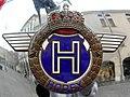 Horex logo in sidecar in Rovigo.JPG