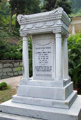 Hormusjee Naorojee Mody - Grave of Hormusjee Mody