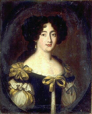 Benedetto Gennari II - Hortense Mancini, duquesa de Mazarino