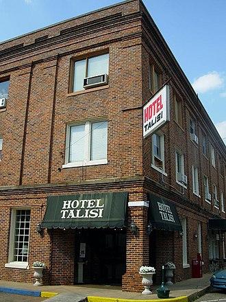 Tallassee, Alabama - Image: Hotel Talisi