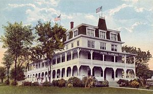 Wolfeboro, New Hampshire - Hotel Elmwood c. 1915