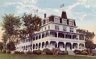Wolfeboro, New Hampshire - Hotel Elmwood c. 1915