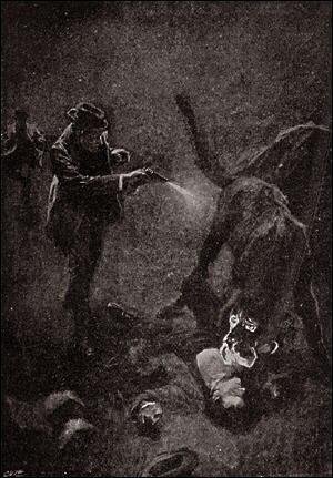 Houn-54 - The Hound killed by Holmes
