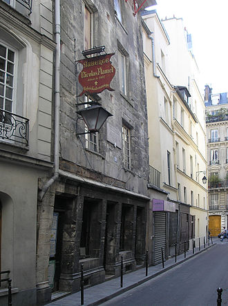 Nicolas Flamel - Image: House of Nicolas Flamel, Paris June 2005