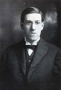 retrato de H.P. Lovecraft.