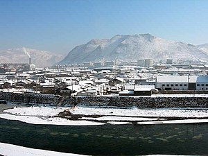 Hyesan - Image: Hyesan from changbai