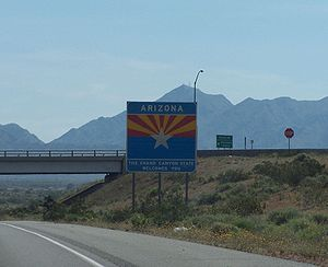 Entering from California