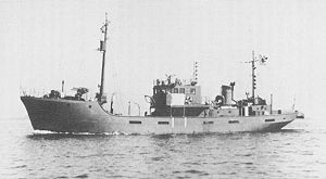 No.1-class auxiliary minesweeper - Image: IJN No 11 Auxiliary Minesweeper 1943