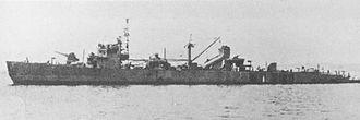 No.1-class landing ship - Image: IJN No 4 Landing Ship 1944