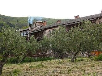Koutloumousiou Monastery - Image: IMG 1251 20070424 koutloumousiou monastery a