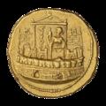 INC-2942-r Ауреус. Клавдий. Ок. 41—42 гг. (реверс).png
