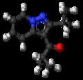 Ibudilast molecule ball.png