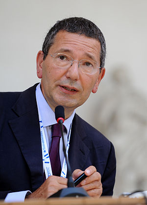 Rome municipal election, 2013 - Image: Ignazio Marino Festivaletteratura 2012 01