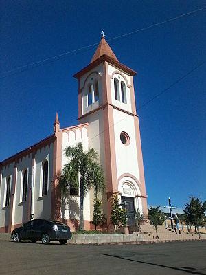 Concórdia - Image: Igreja de Planalto, município de Concórdia