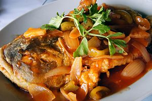 Sweet and sour - Sweet and sour seabass