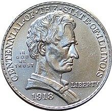 Illinois Centennial half dollar - Wikipedia
