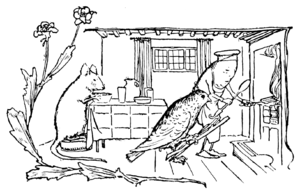 Illustration at page 24 in Grimm's Household Tales (Edwardes, Bell)