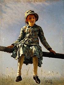 REPIN Ilya Dragonfly 1884