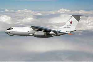 Ilyushin Il-78 - An Il-78M of the Russian Air Force