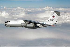 2009 Makhachkala Il-76 collision - Image: Ilyushin Il 78M inflight