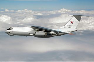 Ilyushin Il-78 Soviet/Russian aerial refueling tanker