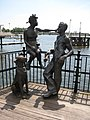 Immigrant Statues, Cardiff Bay - geograph.org.uk - 853491.jpg