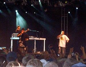 Immortal Technique - Immortal Technique (left) at the Roskilde Festival, 2006