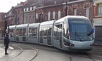 Inauguration de la branche vers Vieux-Condé de la ligne B du tramway de Valenciennes le 13 décembre 2013 (167).JPG