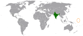India–Marshall Islands relations Diplomatic relations between the Republic of India and the Republic of the Marshall Islands