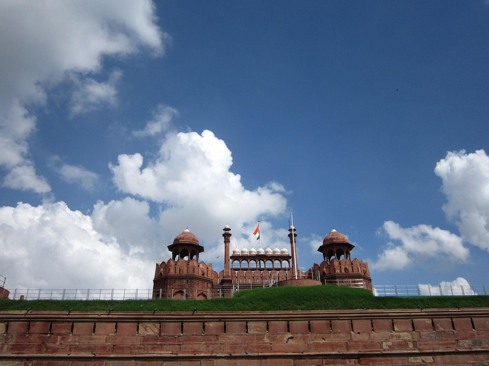 Blue Skies in New Delhi