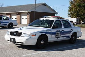 Indiana State Police - Indiana State Police cruiser