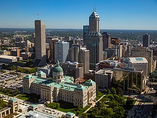 Indianapolis State capital and Consolidated City County in the United States