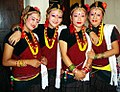 Indigenous magar girls of Nepal.JPG